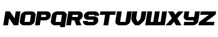 Soviet Program Bold Italic Font UPPERCASE