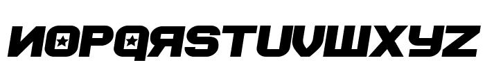 Soviet Program Bold Italic Font LOWERCASE