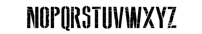 Soviet Style Font UPPERCASE