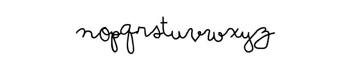 Soymilk Font LOWERCASE