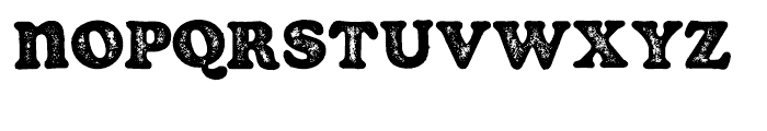 Soap Stamp Font LOWERCASE