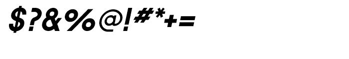 Sofia Bold Italic Font OTHER CHARS