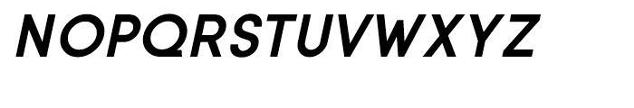 Sofia Bold Italic Font UPPERCASE