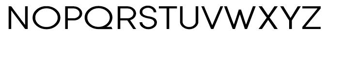 Sofia Expanded Regular Font UPPERCASE