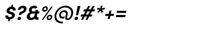 Sofia Pro Bold Italic Font OTHER CHARS