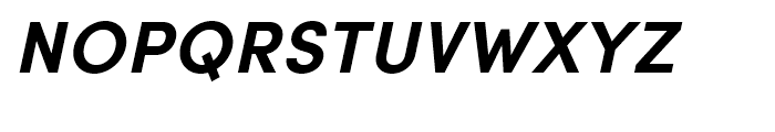 Sofia Pro Bold Italic Font UPPERCASE