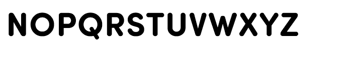 Sofia Pro Soft Bold Font UPPERCASE