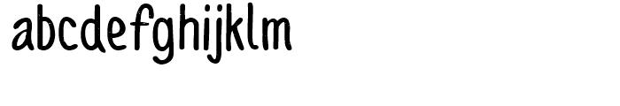 Sofia Rough Script Bold Font UPPERCASE