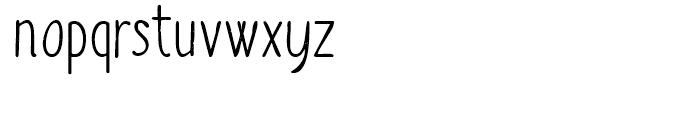 Sofia Rough Script Regular Font LOWERCASE