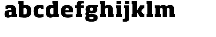 Soho Extra Bold Font LOWERCASE