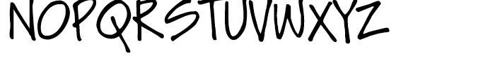 Soli Px Regular Font UPPERCASE