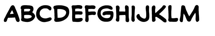 Soliloquous Bold Font UPPERCASE