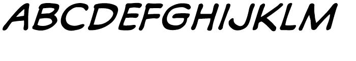 Soliloquous Italic Font UPPERCASE