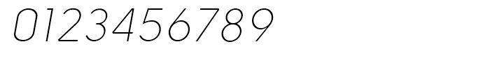 Solomon Sans Light Italic Font OTHER CHARS
