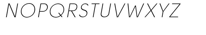 Solomon Sans Light Italic Font UPPERCASE