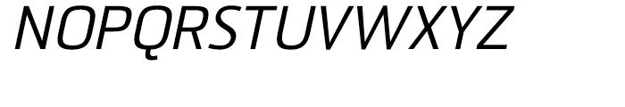 Sommet Italic Font UPPERCASE