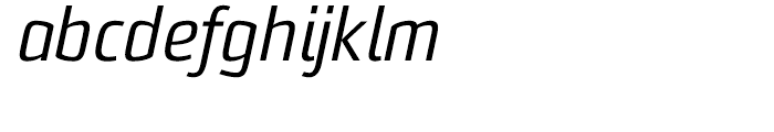 Sommet Italic Font LOWERCASE