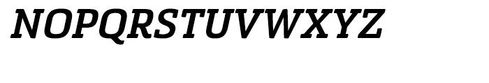Sommet Slab Rounded Black Italic Font UPPERCASE