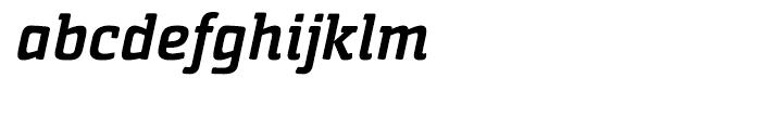 Sommet Slab Rounded Black Italic Font LOWERCASE