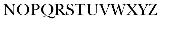 Song ASC Traditional Medium Font UPPERCASE