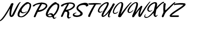 Sonora Bold Italic Font UPPERCASE