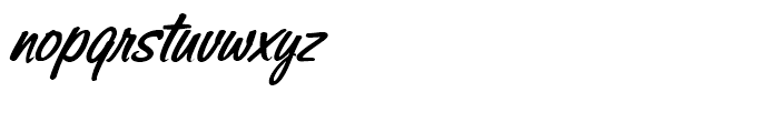 Sonora Bold Italic Font LOWERCASE