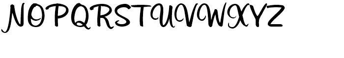 Sonora Bold Font UPPERCASE