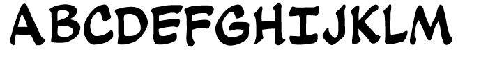 Soothsayer Regular Font UPPERCASE