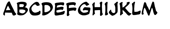 Soothsayer Regular Font LOWERCASE