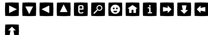 Sophisto Icons Buttons C Font LOWERCASE