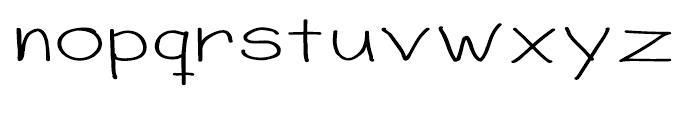 Sorbet Wide Font LOWERCASE