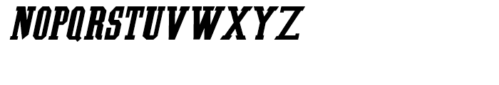 Southem Colonialist Italic Font UPPERCASE
