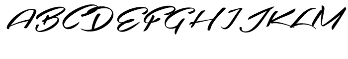 Southern Aire Regular Font UPPERCASE
