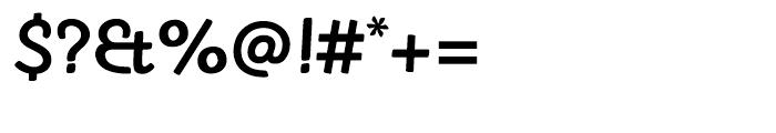 Sovba Medium Font OTHER CHARS