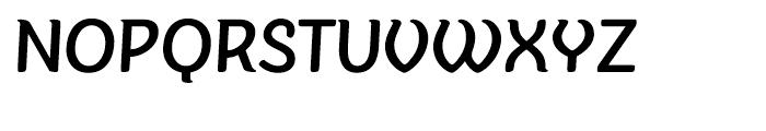 Sovba Medium Font UPPERCASE