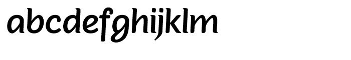 Sovba Medium Font LOWERCASE