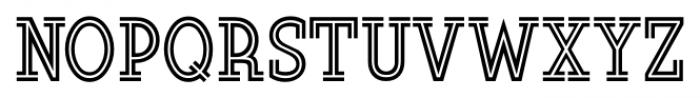 Soda Fountain JNL Regular Font UPPERCASE