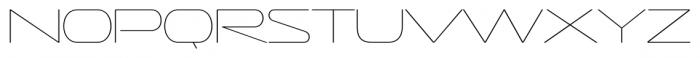 Sofachrome Ultralight Font LOWERCASE