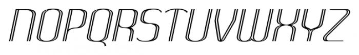 SomaSkript Incised Slanted Font UPPERCASE