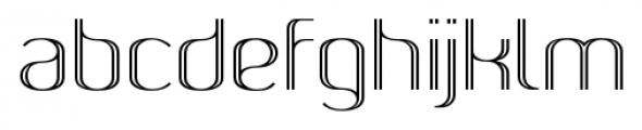 SomaSkript Incised Font LOWERCASE