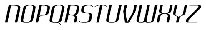 SomaSkript Slanted Font UPPERCASE