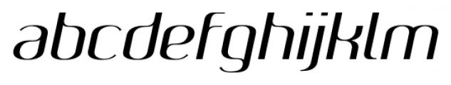 SomaSkript Slanted Font LOWERCASE