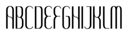 SomaSkript Tall Regular Font UPPERCASE