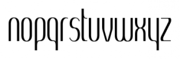 SomaSkript Tall Regular Font LOWERCASE