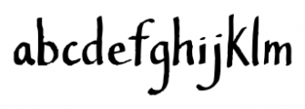 Southern Belle Regular Font LOWERCASE