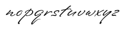 Southern Nights Regular Font LOWERCASE