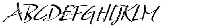So Lovely Regular Font UPPERCASE