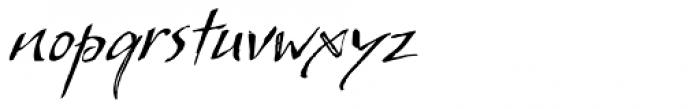 So Lovely Regular Font LOWERCASE
