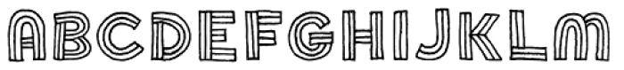 Soccerboy Font UPPERCASE