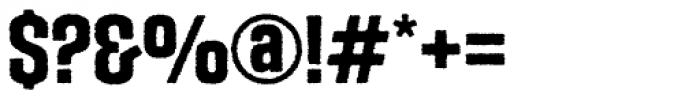 Social Gothic Rough Font OTHER CHARS